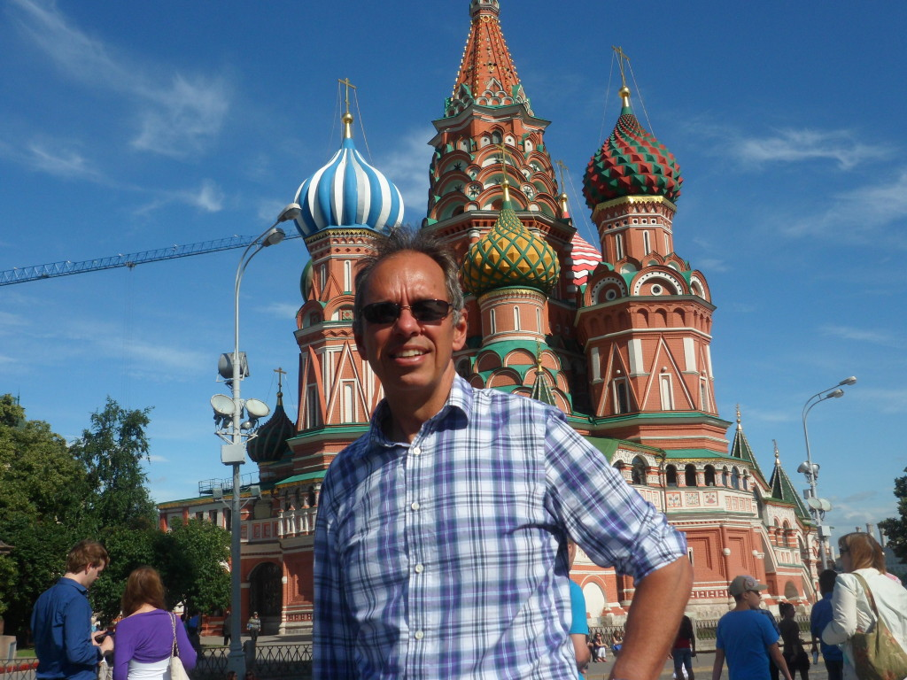 The obligatory photo in front of St. Basil's