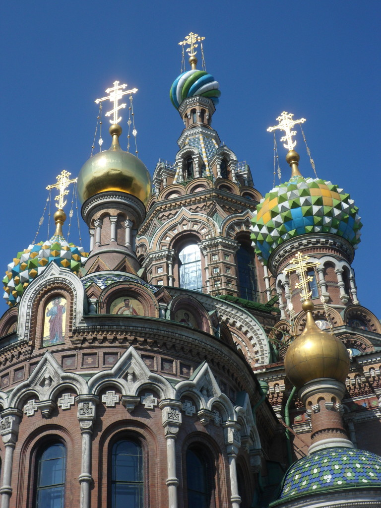 Church of the Spilled Blood, built on the site of Alexander II's assassination