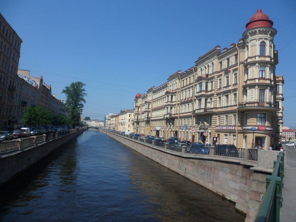 St. Petersburg canal and architecture