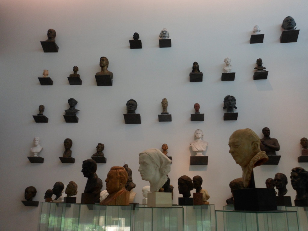 Busts, busts, and more busts