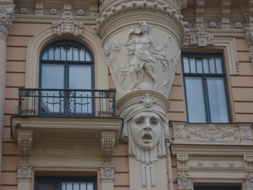The Riga Graduate School of Law is just covered with these dramatic scenes