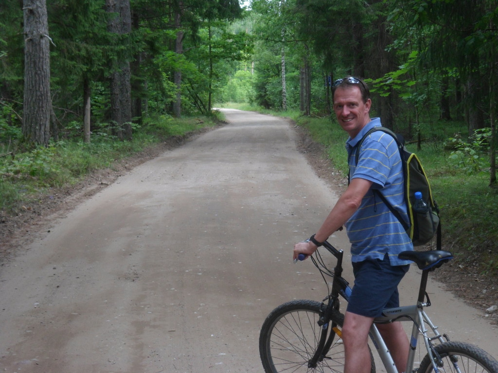 Mark on the trail