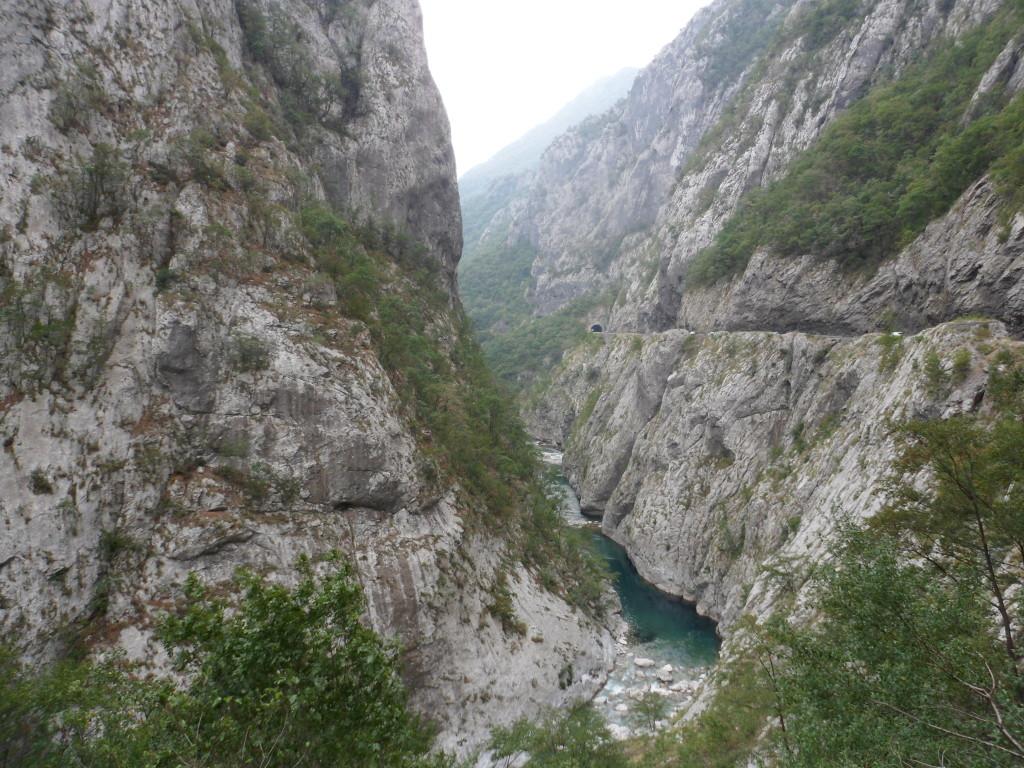 A canyon en route to Plav