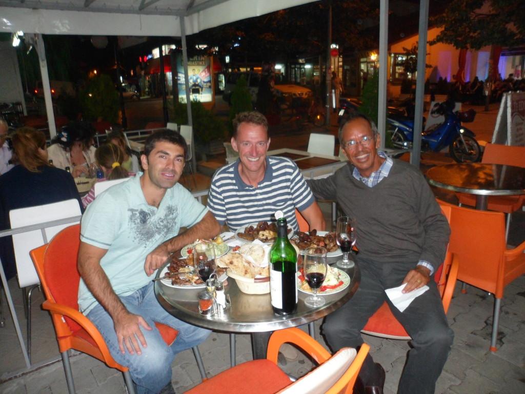 Dinner in Peć, Kosovo