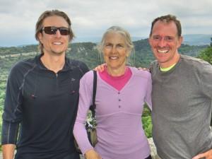 Brad, Miriam, and Mark