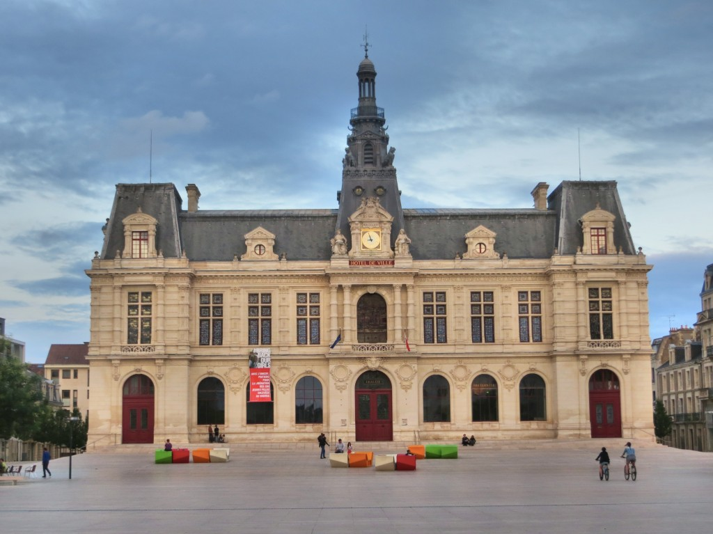 City hall in the lovely town of Poitiers