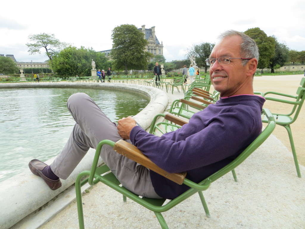 My highlights are always reading breaks. This is in the Tuileries, but I also spent time in Parc Monceau and the Luxembourg Gardens