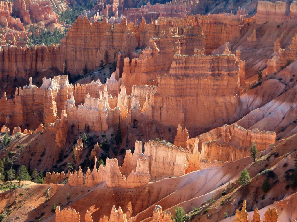 Hoodoos. And more hoodoos. You're going to see a lot of them here.