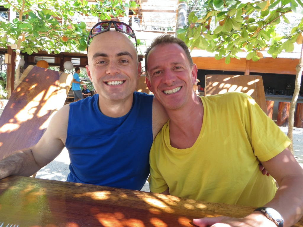 Vlad and Mark at Lola's