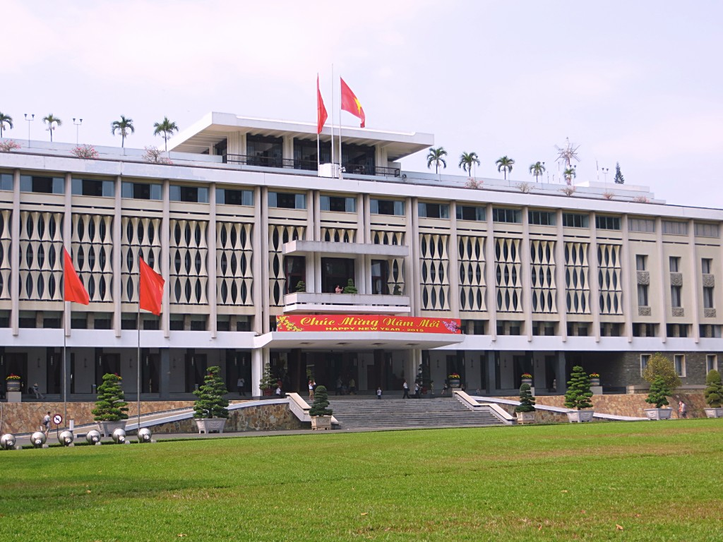 Once the Presidential Palace, now known as the Reunification Palace