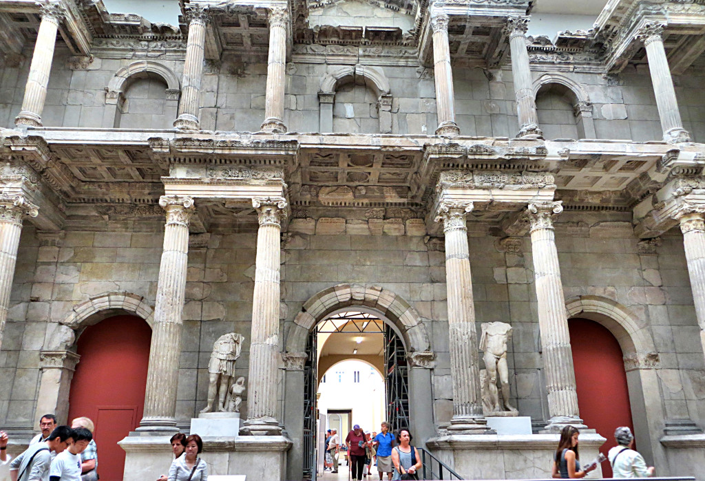 Another massive installment at the Pergamon, in this case the Market Gate of Miletus