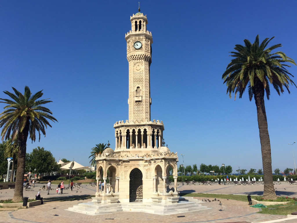 An Ottoman clock tower from the start of the 20th century lies at the heart of the city and is often described as the city's emblem