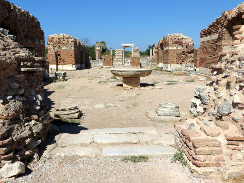 Remains of the Church of Mary, where the Council of Ephesus was held