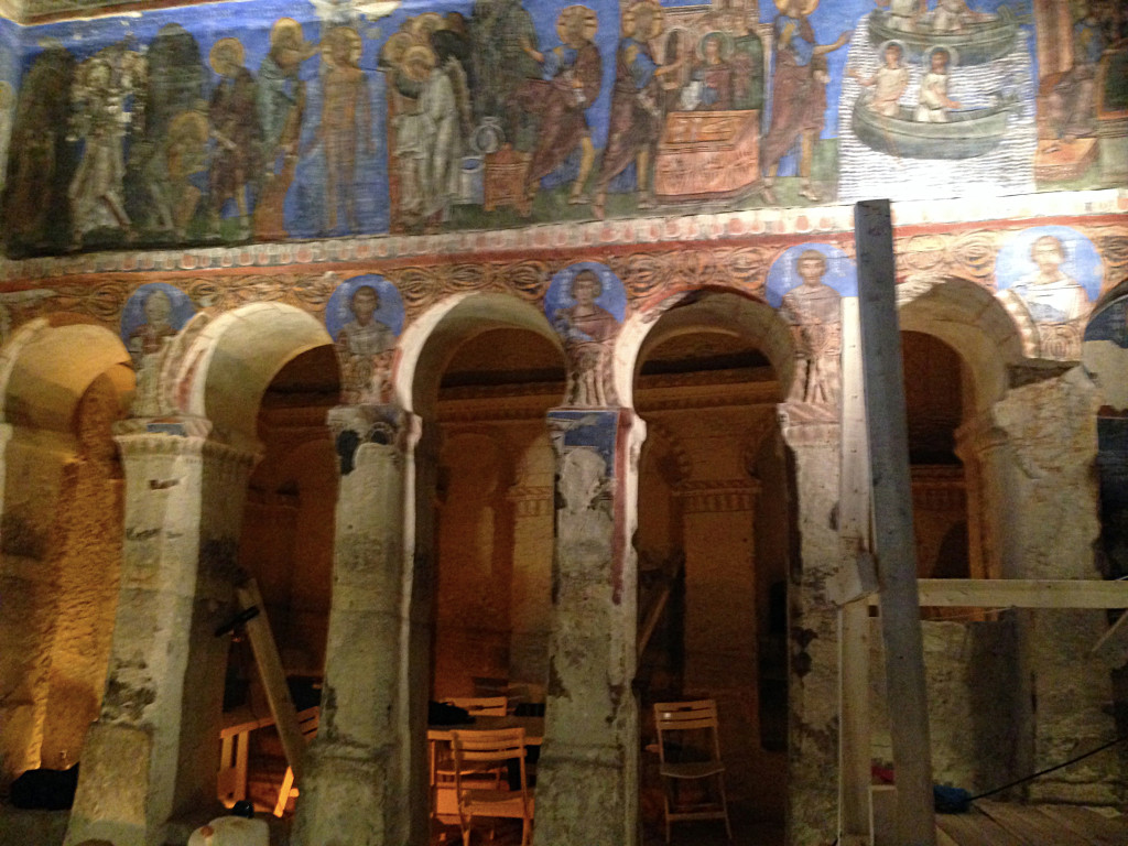 Back to the underground churches and their remarkable frescos