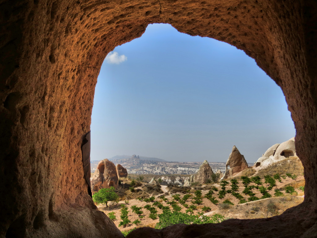 And one final look at the fairy tale land of Cappadocia