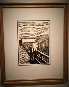 The Thyssen Museum had a special Munch exhibit, the Norwegian artist most famous for The Scream. His work was genuinely interesting though, to put it mildly, often depressing.
