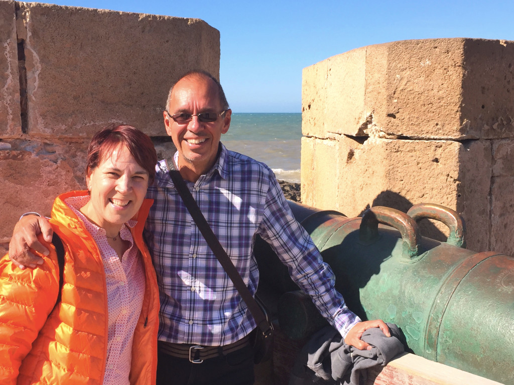 Me and Jenny in Essaouira