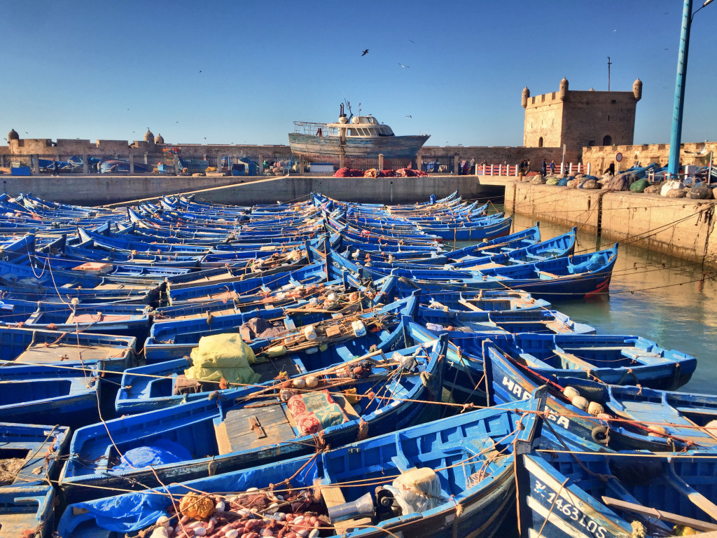 There were boats in Essaouira, too