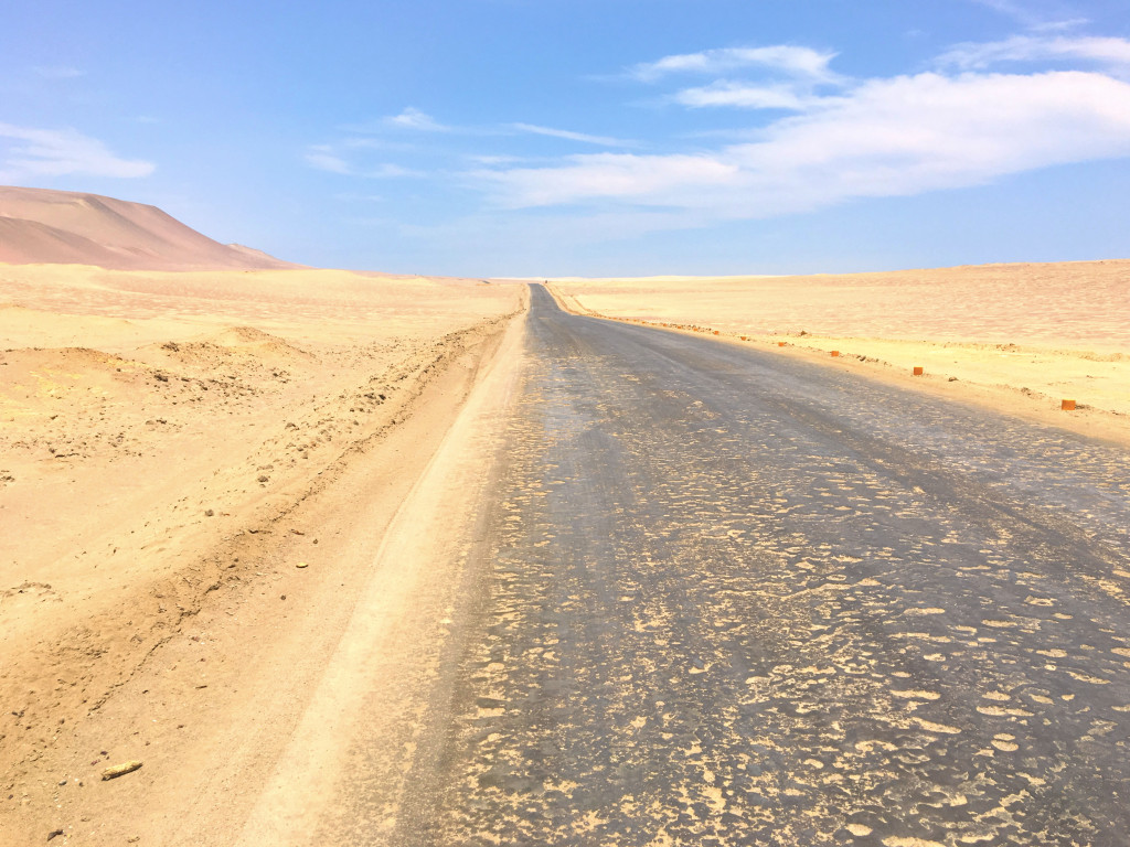 I did a bit of a bike ride out into the Paracas National Reserve. Pretty much just miles and miles of this, at least the part of it that I saw. It reminded me of biking across Nevada which, I realized, was 30 years ago, just about exactly half my life ago.