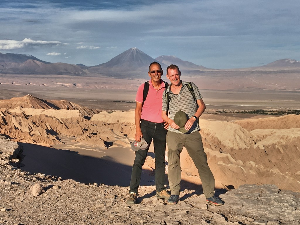 Late on our first afternoon in San Pedro de Atacama, up above Valley of the Moon
