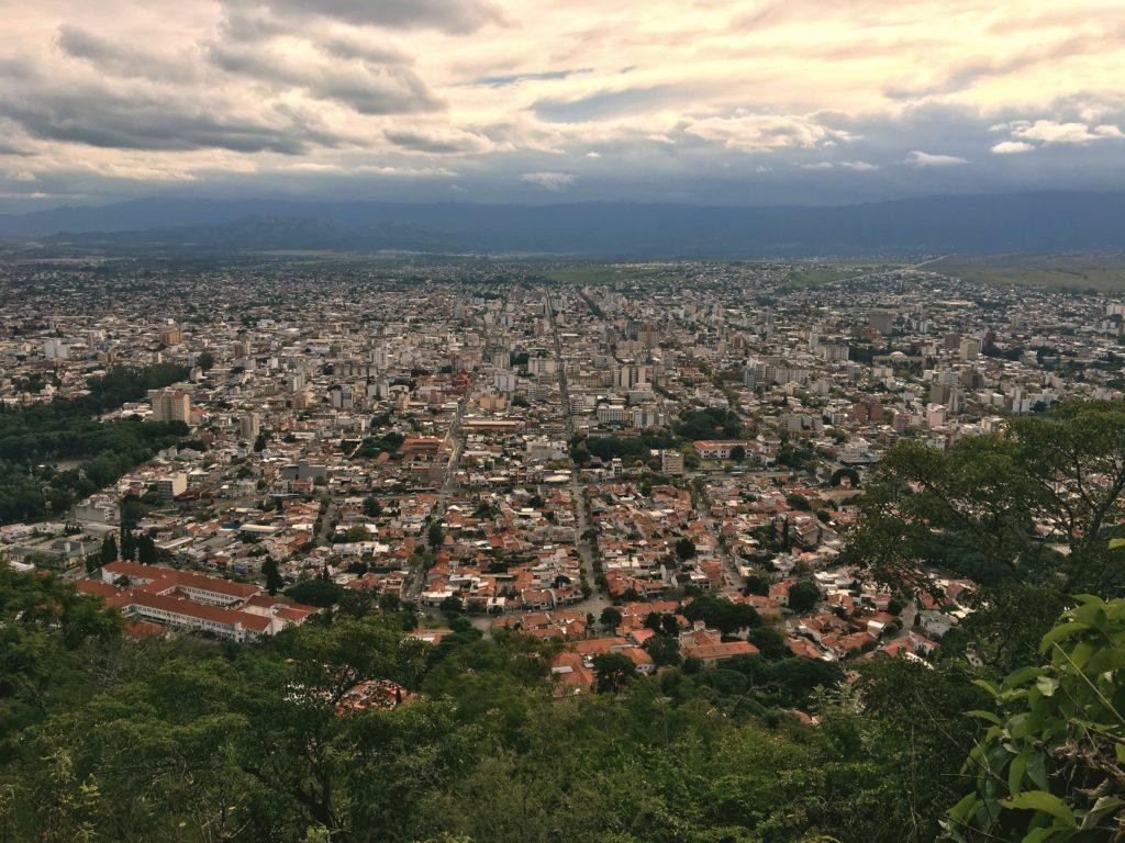 View of Salta from St. Bernard Hill