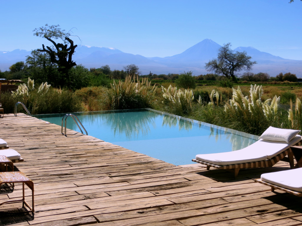 Oh, and after all that hiking? We could always hang around the lodge's small but beautiful pool with a great view of the mountains
