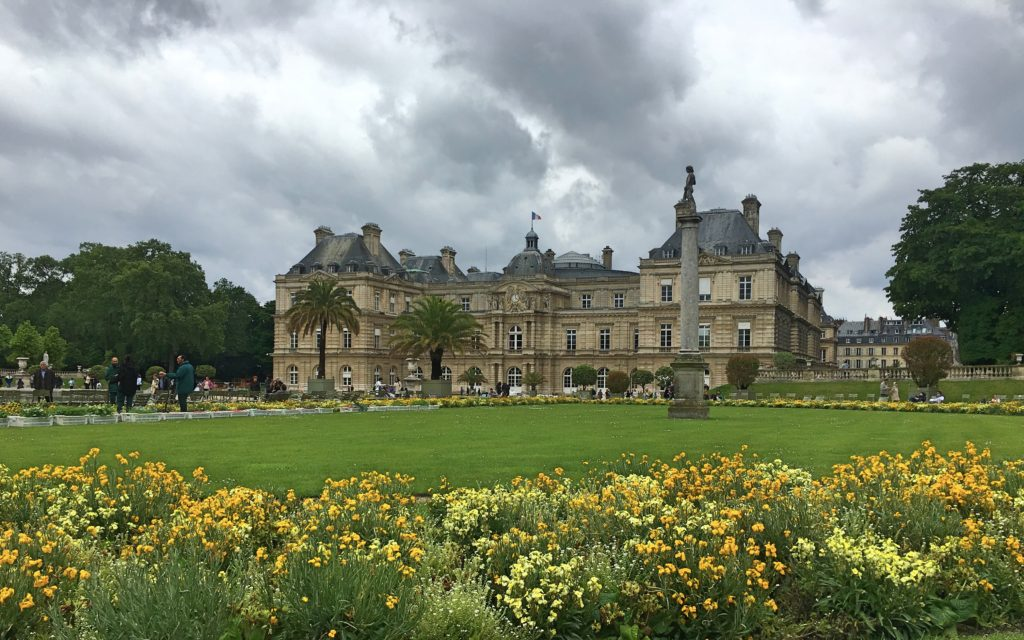 The Luxembourg Gardens are always beautiful, no matter the weather