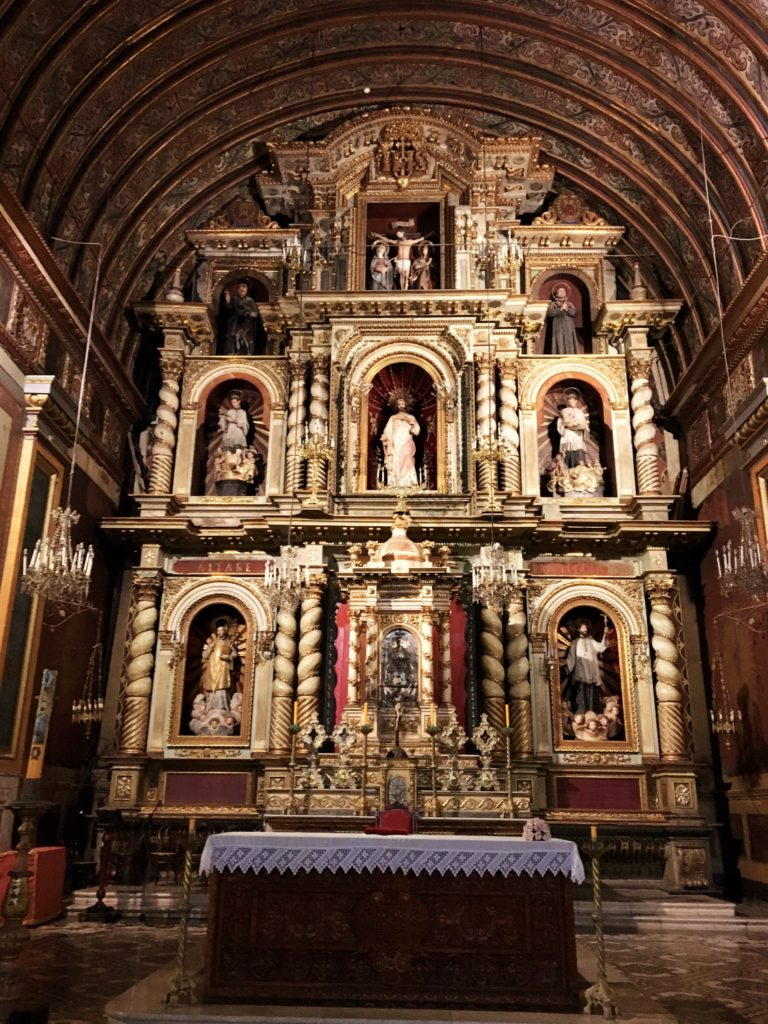 The Cathedral's interior is grand, though I thought it paled compared to Salta. We are, of course, big church goers as we travel from city to city.