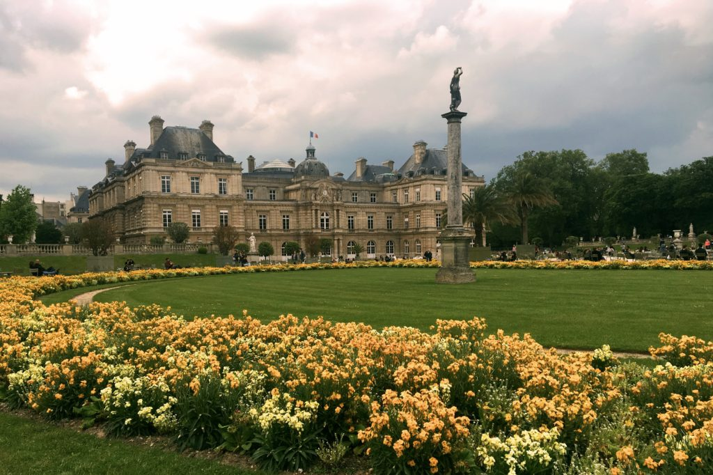 Luxembourg Gardens, one of my favorite places in Paris.