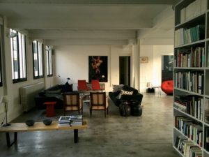 Part of the enormous space in our Paris loft