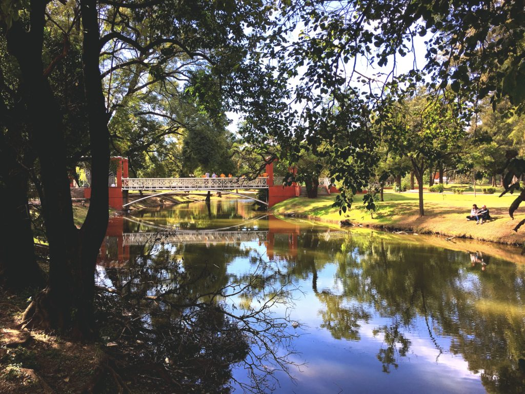 Parque Sarmiento is a huge green space in the middle of the city. We went there on Sunday afternoon when there were a lot of locals enjoying May Day.