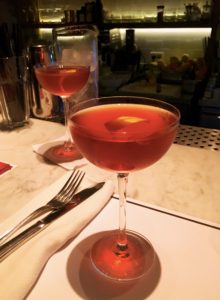After months across South America it was a treat to find bartenders who know how to make Perfect Manhattans