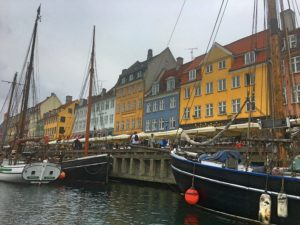 The view from our boat tour of Copenhagen's canals