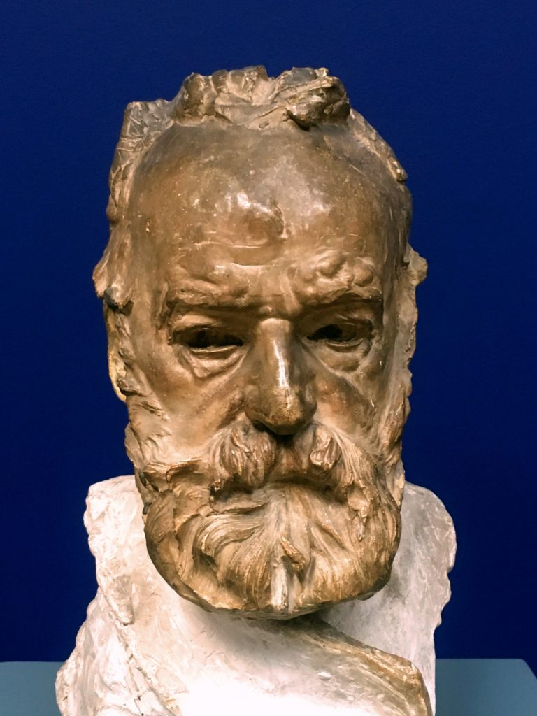 Mark liked this bust of Victor Hugo by Rodin