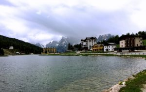 Lake Misurina, one of the little treats to experience on Day 1's long route