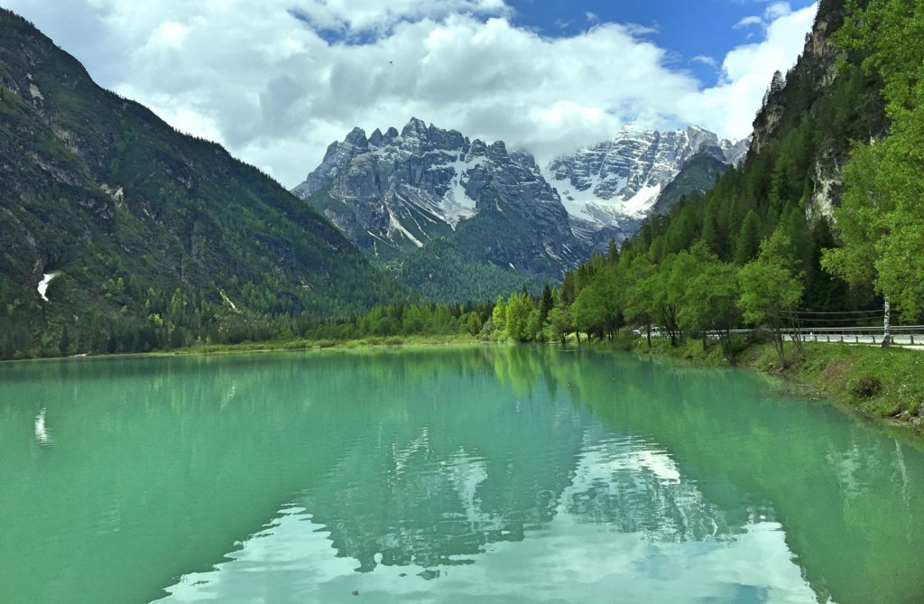 Another view of Lago di Landro