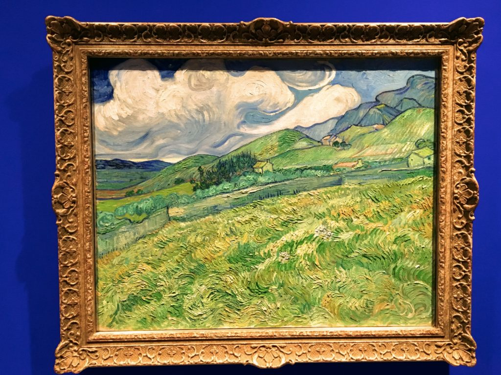 While I was partial to this Van Gogh