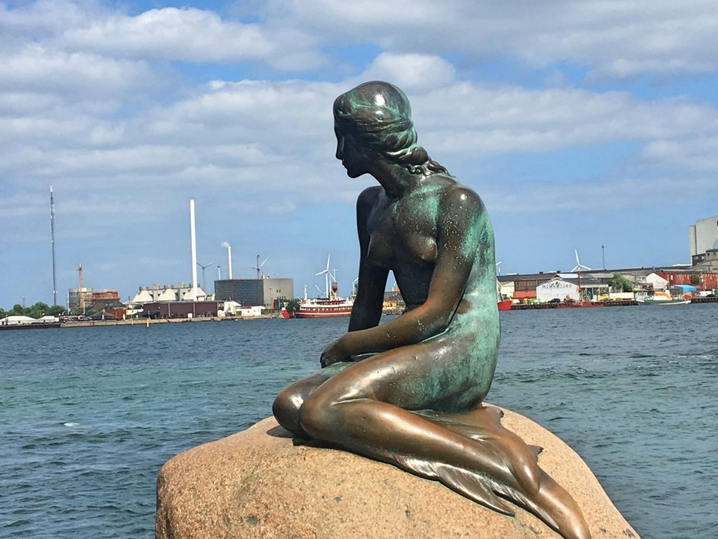 The Little Mermaid is Copenhagen's iconic site, and, to be honest, pretty small and unimpressive