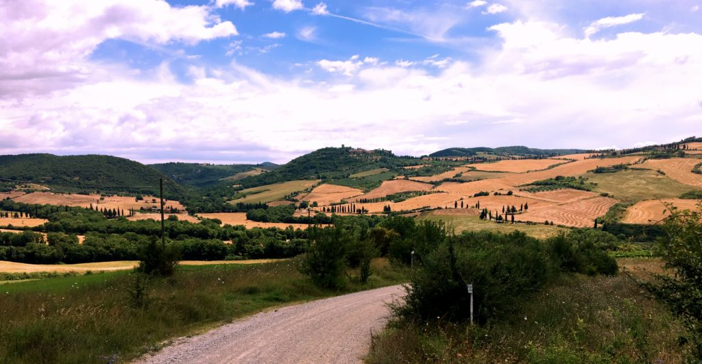 I loved the views on our walks around Montepulciano and Pienza