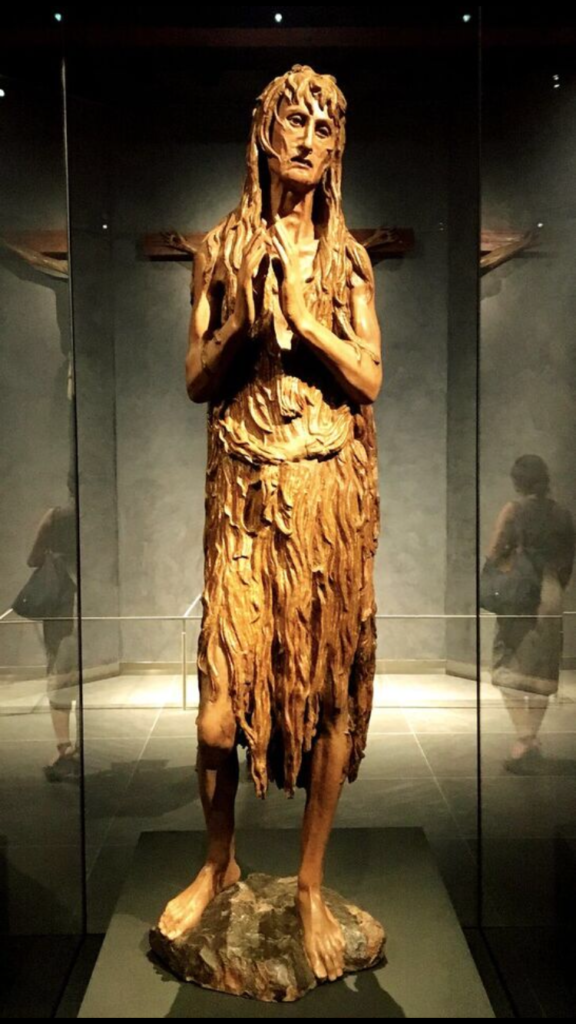 Meanwhile, over in the Grand Museum of the Duomo was this grand Mary Magdalene - living as a saintly hermit after the crucifixion - by Donatello. It looked so modern it was hard to believe it was well over 500 years old.