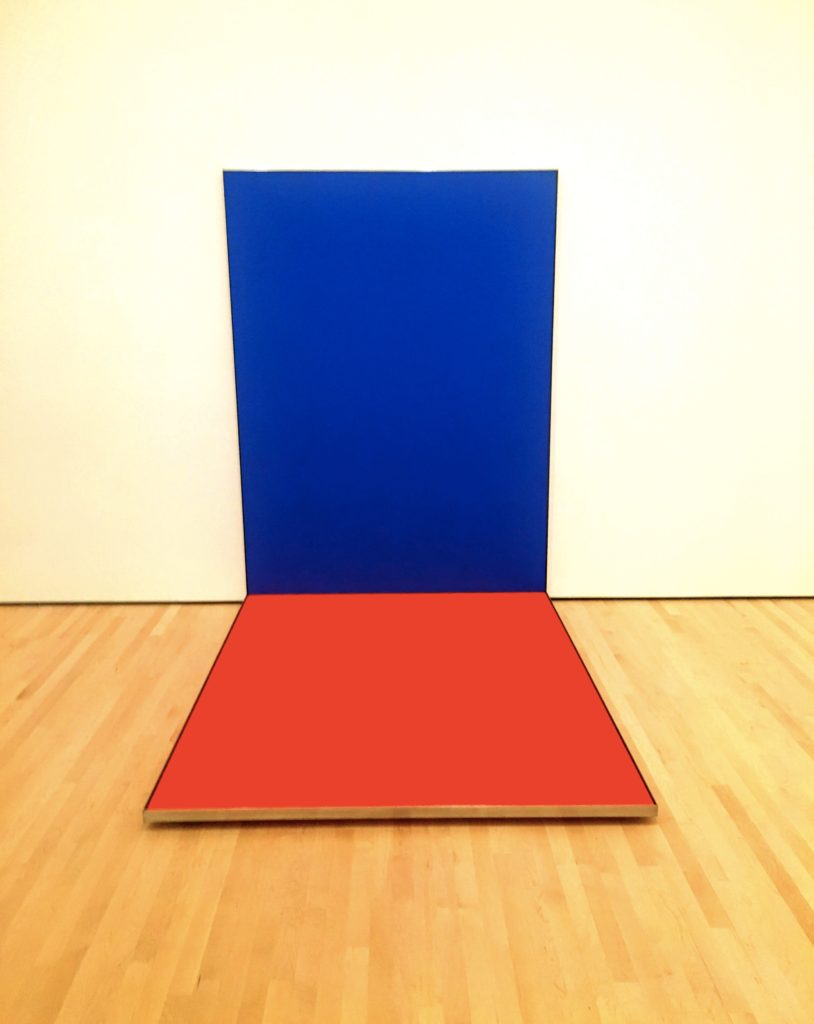 """More Ellsworth Kelly, this one titled """"Blue Red"""", also from 19966"""