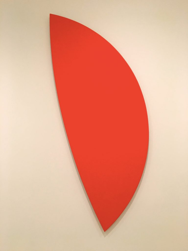 """Ellsworth Kelly's """"Red Curves"""" from 1996. Just something about it..."""