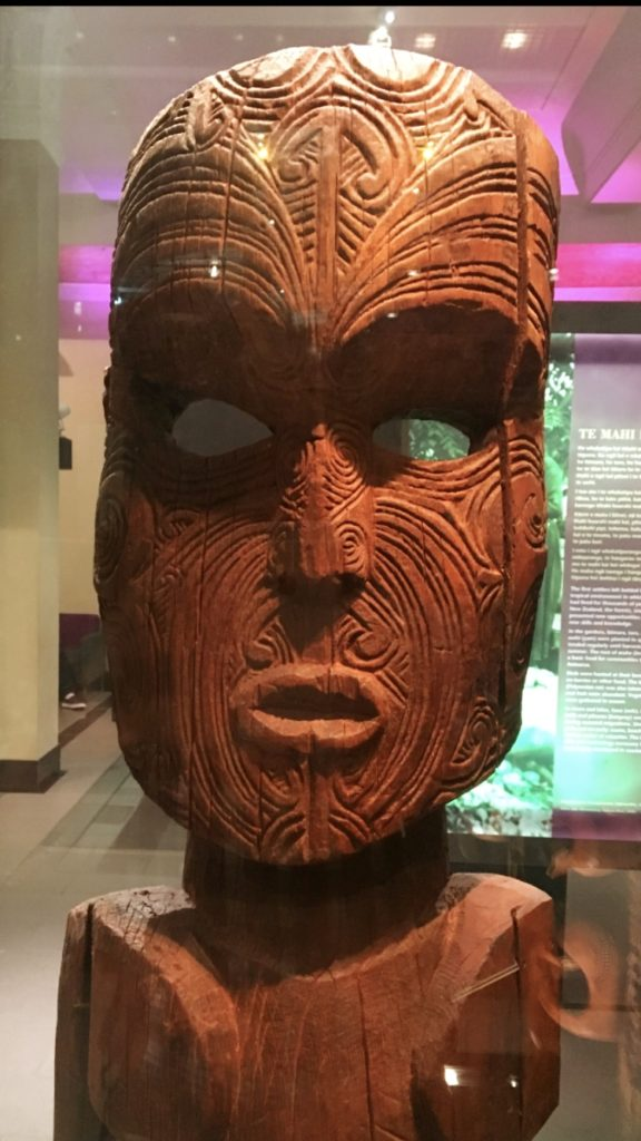 And speaking of Maori culture, there was a lot of this kind of stuff in the museum