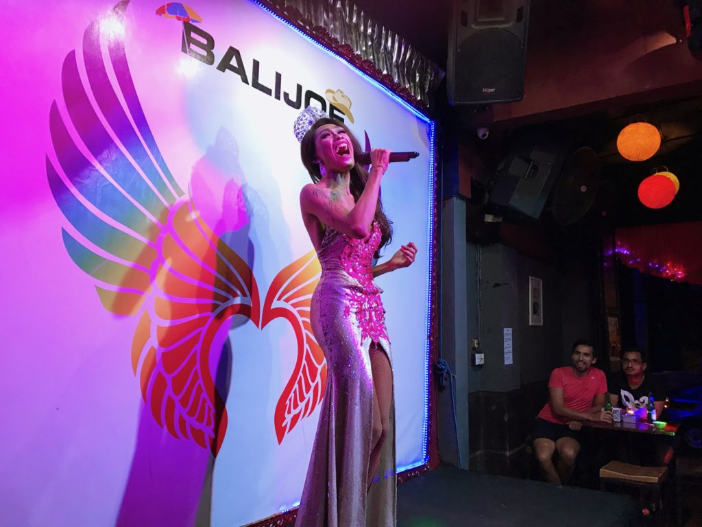 And while on the subject of entertainment in Seminyak, can't forget the entertaining drag shows