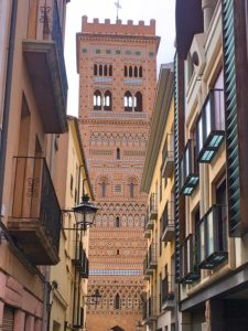 Tercel's Tower of El Salvador, one of the most beautiful examples of Mudéjar architecture