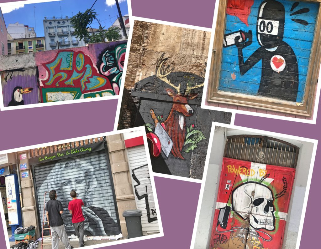 València has a lot of great street art, too