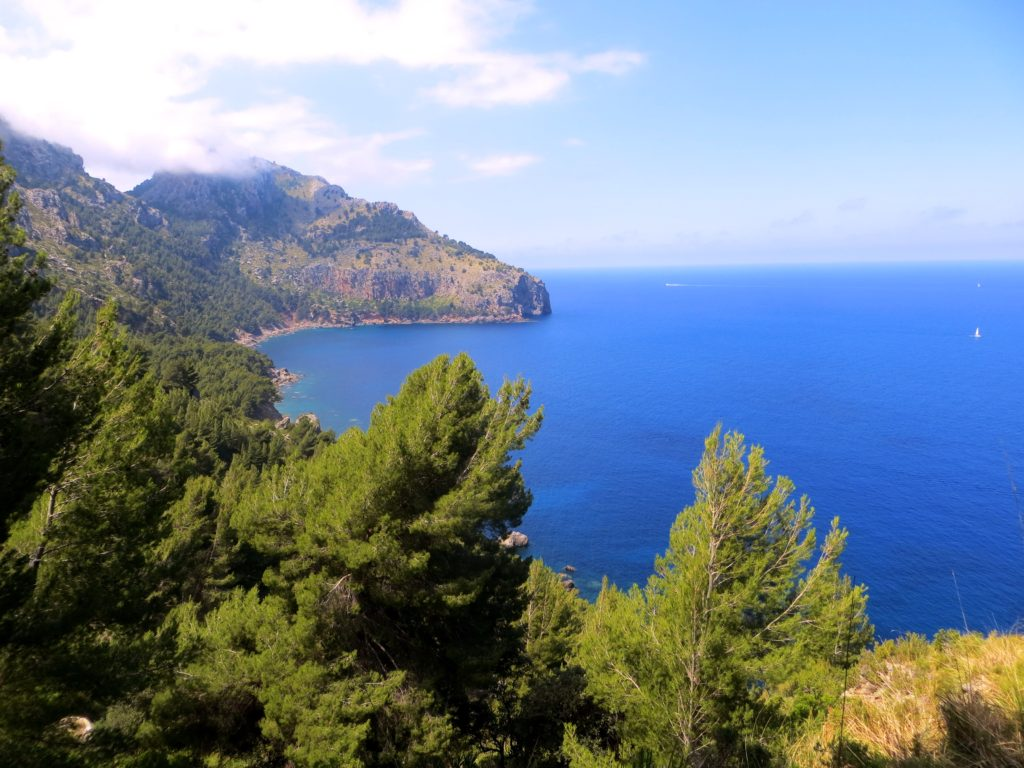 The view on the way to Deiá
