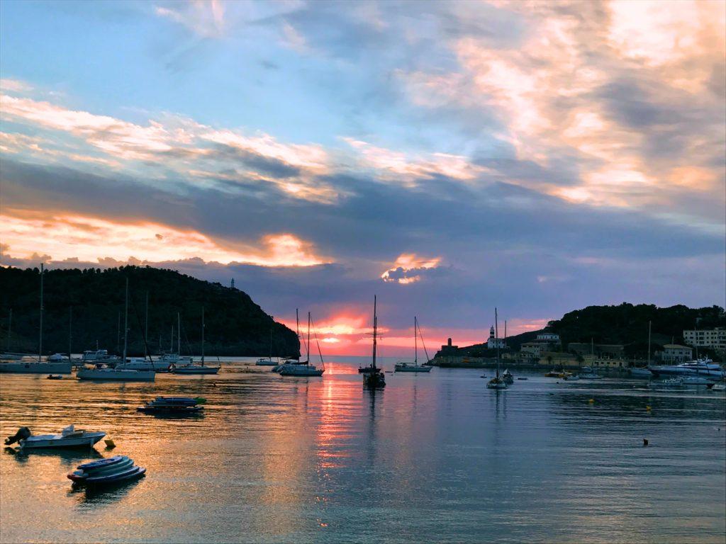 Sunset at Port de Sóller