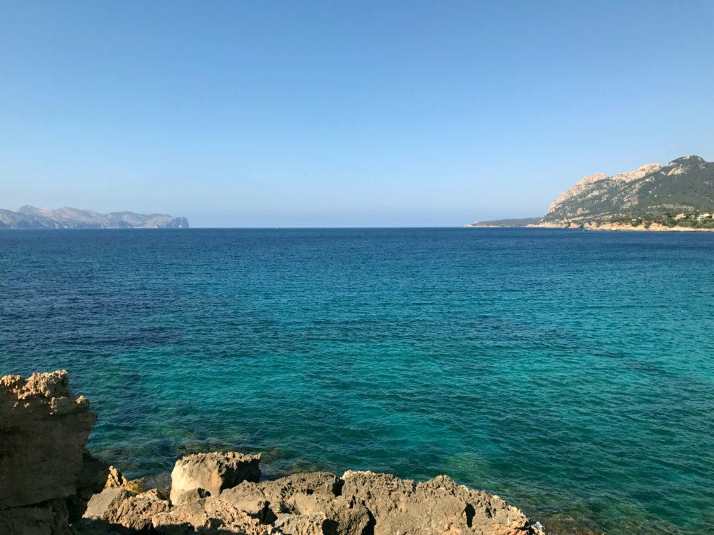 The entrance to the Bay of Pollença