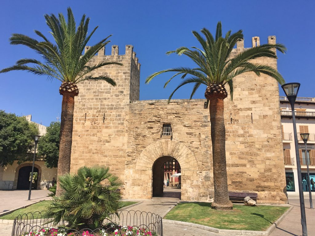 The 14th century town gate